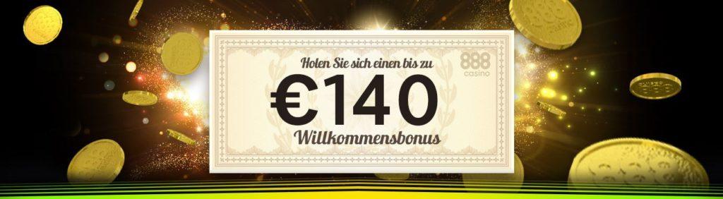 Willkommensbonus 888 Online Casino