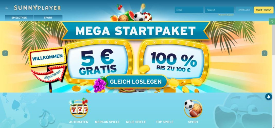 sunnyplayer 5 euro no deposit bonus