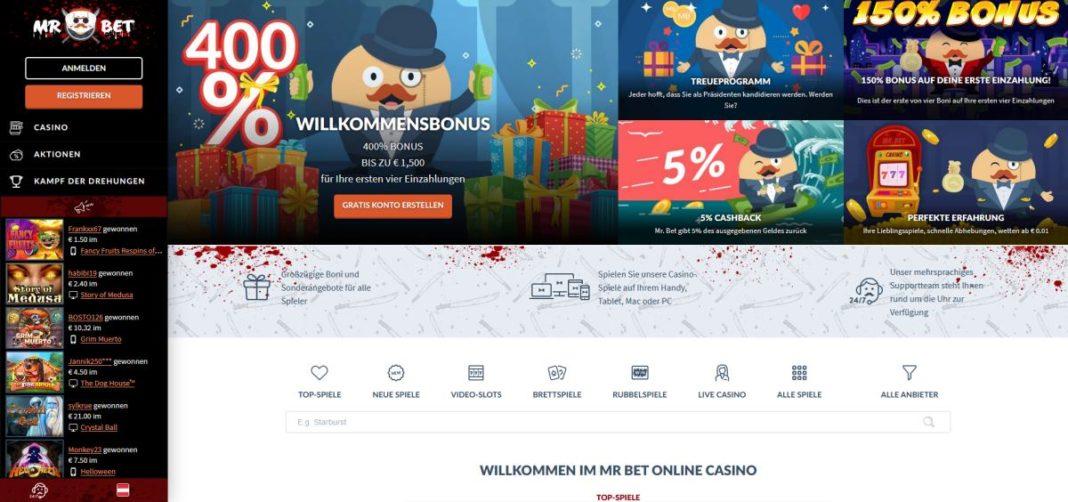 Mr Bet Casino Startseite